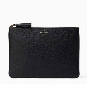 Kate Spade Gia LARGE Chester Street Leather Pouch